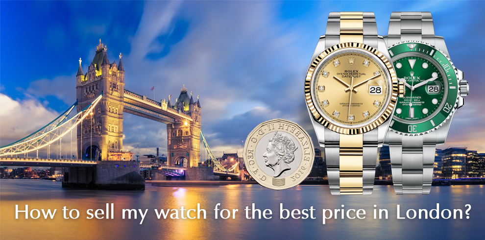 Sell my watch in London