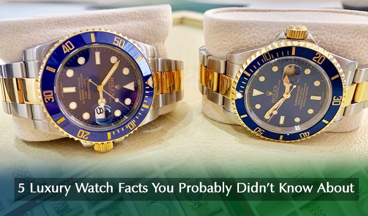5 Watch Facts