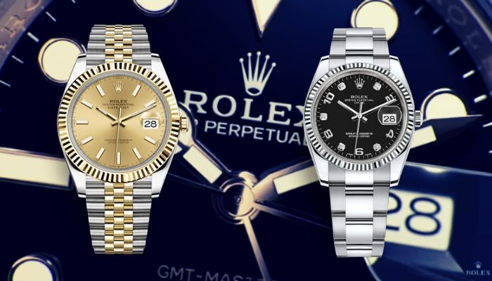 rolex datejust vs rolex date