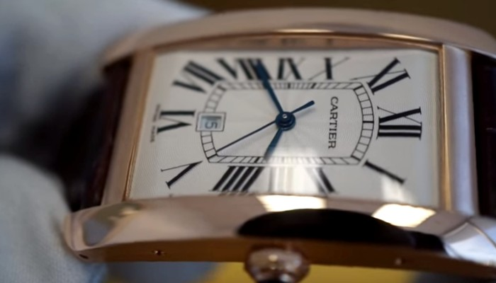 the cartier tank americaine