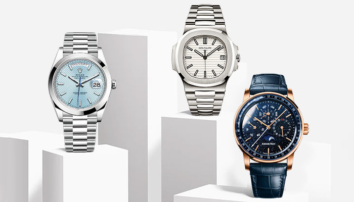 luxury watches like ap, patek, philippe Rolex